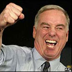 Howard Dean's Iowa Caucus Concession Scream