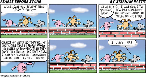 Pearls Before Swine comic strip