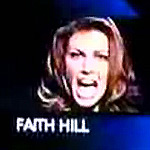 Faith Hill meltdown at CMA awards.  Joke or not, was a dumb thing to do.
