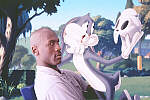 Bugs and Michael in 'Space Jam'