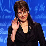Tina Fey as Sarah Palin. What a great month for SNL. Is Tina retiring her impersonation of Palin?